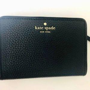 NEW Kate Spade Tellie Wallet - Black